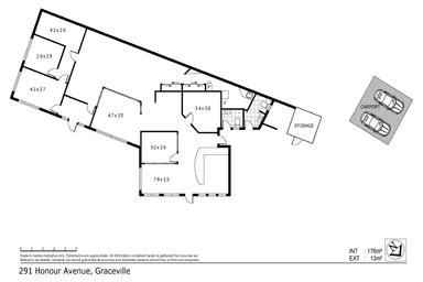 NANETTE LILLEY PROPERTY CENTRE, 291-293 HONOUR AVENUE Graceville QLD 4075 - Floor Plan 1