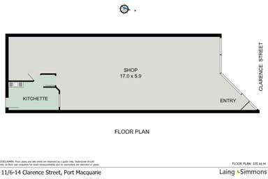11/6-14 Clarence Street Port Macquarie NSW 2444 - Floor Plan 1