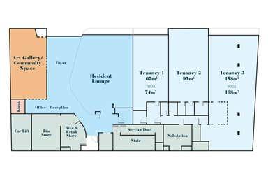 Inspired architectural food retail with pristine ocean views, 31 Holman Street Bunbury WA 6230 - Floor Plan 1
