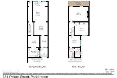 381 Oxford Street Paddington NSW 2021 - Floor Plan 1