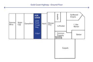 Nobbys Beach Gem, 2245 Gold Coast Hwy Mermaid Beach QLD 4218 - Floor Plan 1