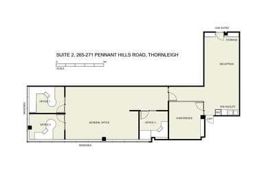 2/265 - 271 Pennant Hills Road Thornleigh NSW 2120 - Floor Plan 1