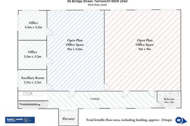 Level 1, 85 Bridge Street Tamworth NSW 2340 - Floor Plan 1