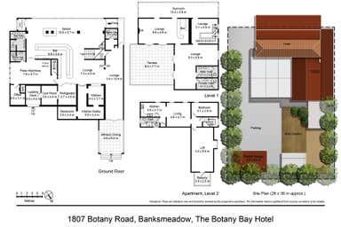 1807 Botany Road Banksmeadow NSW 2019 - Floor Plan 1