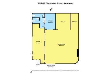 1/12 - 18  Clarendon Street Artarmon NSW 2064 - Floor Plan 1