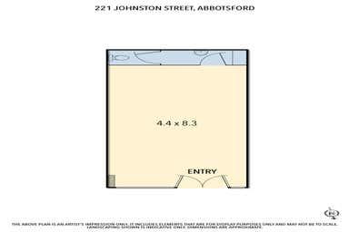 221 Johnston Street Abbotsford VIC 3067 - Floor Plan 1