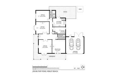 208 Military Road Henley Beach SA 5022 - Floor Plan 1
