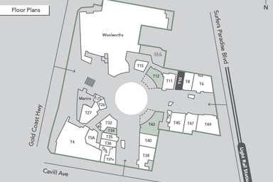 Circle on Cavill, 3184 Surfers Paradise Blvd Surfers Paradise QLD 4217 - Floor Plan 1