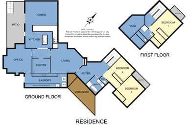 Arcadia Cottages, 188-190 Falls Road Olinda VIC 3788 - Floor Plan 1