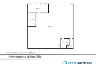 3/29 Enterprise Drive Beresfield NSW 2322 - Floor Plan 1