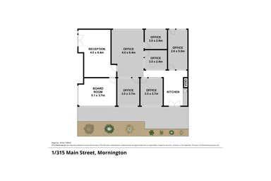 Ground Floor, 1, 315 Main Street Mornington VIC 3931 - Floor Plan 1