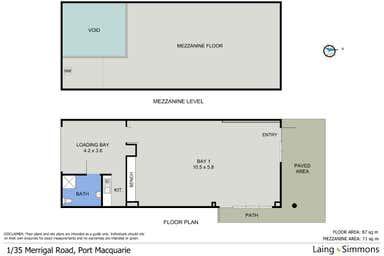 1/35 Merrigal Road Port Macquarie NSW 2444 - Floor Plan 1