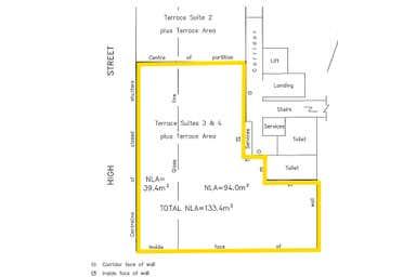 Terrace Suite 3 & 4 , 183-191 High Street Willoughby NSW 2068 - Floor Plan 1