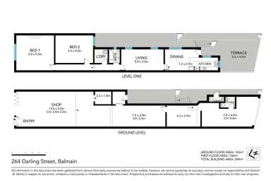 264 Darling Street Balmain NSW 2041 - Floor Plan 1