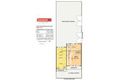 Units 1 & 2, 100 Churchill Road North Dry Creek SA 5094 - Floor Plan 1