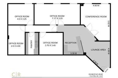 Level 5, 20/55 Gawler Place Adelaide SA 5000 - Floor Plan 1