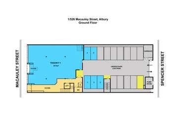 1526 Macauley Street Albury NSW 2640, 1/526 Macauley Street Albury NSW 2640 - Floor Plan 1