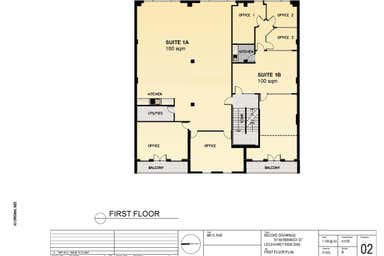 Level 1, 57-59 Renwick Street Leichhardt NSW 2040 - Floor Plan 1