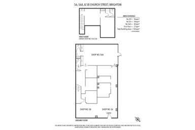 56,  56a & 58 Church Street Brighton VIC 3186 - Floor Plan 1