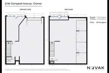2/36 Campbell Avenue Cromer NSW 2099 - Floor Plan 1