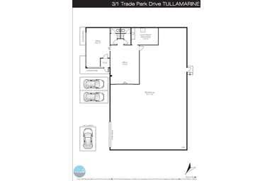3/1 Trade Park Drive Tullamarine VIC 3043 - Floor Plan 1