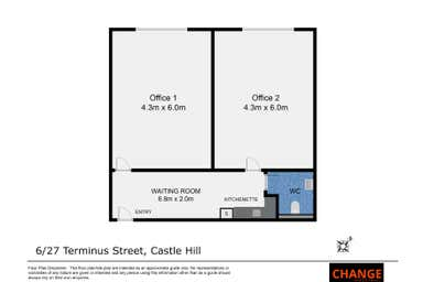 6/27 Terminus Street Castle Hill NSW 2154 - Floor Plan 1