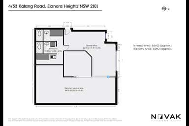 4/53 Kalang Road Elanora Heights NSW 2101 - Floor Plan 1