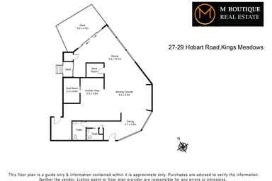27-29 Hobart Road South Launceston TAS 7249 - Floor Plan 1