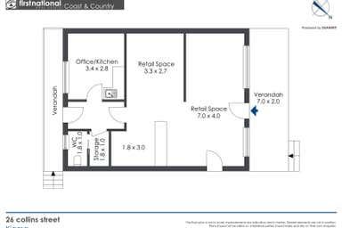 26 Collins Street Kiama NSW 2533 - Floor Plan 1
