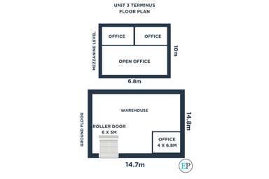 3/20 Caterpillar Drive Paget QLD 4740 - Floor Plan 1