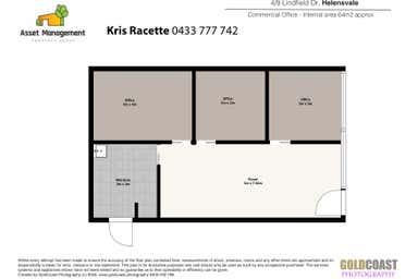 Helensvale Convenien, Shop 4 / 1-9 Lindfield Road Helensvale QLD 4212 - Floor Plan 1