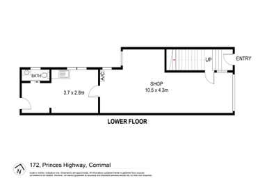172 Princes Highway Corrimal NSW 2518 - Floor Plan 1