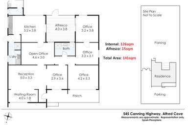 545 Canning Highway Alfred Cove WA 6154 - Floor Plan 1