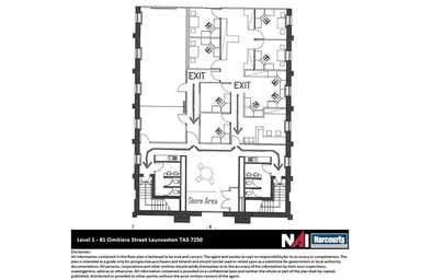 Level 1, 81 Cimitiere Street Launceston TAS 7250 - Floor Plan 1