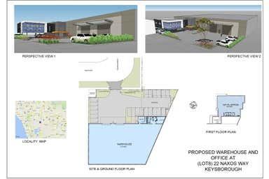 22 Naxos Way Keysborough VIC 3173 - Floor Plan 1