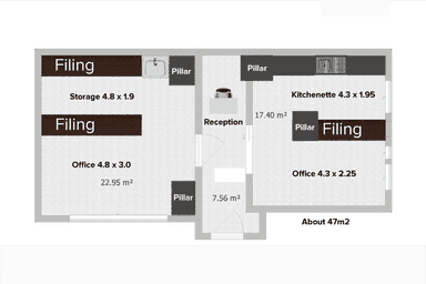 William Bland Centre, Level 8/Suite 809, 229-231  Macquarie Street Sydney NSW 2000 - Floor Plan 1
