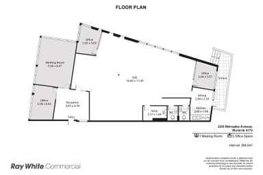 22/8 Metroplex Avenue Murarrie QLD 4172 - Floor Plan 1