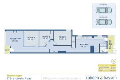 176 Victoria Road Drummoyne NSW 2047 - Floor Plan 1