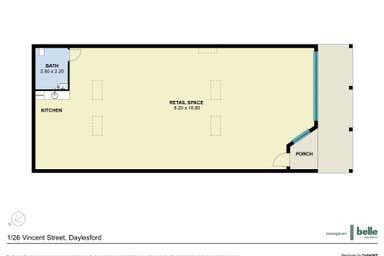 1/26 Vincent Street Daylesford VIC 3460 - Floor Plan 1