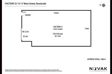 2/15-17 West Street Brookvale NSW 2100 - Floor Plan 1