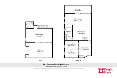 Level 4, 3/2 Coombe Street Wollongong NSW 2500 - Floor Plan 1