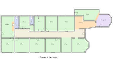 12 Stanley Street Wodonga VIC 3690 - Floor Plan 1