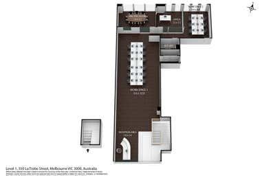 350 La Trobe Street Melbourne VIC 3004 - Floor Plan 1