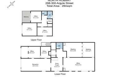 298 Argyle Street North Hobart TAS 7000 - Floor Plan 1