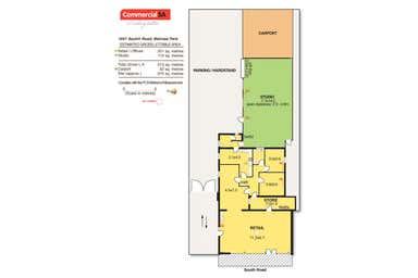 1051 South Road Melrose Park SA 5039 - Floor Plan 1