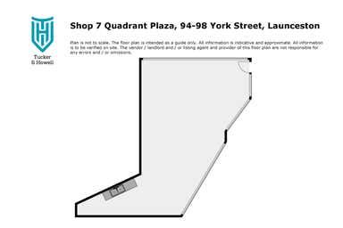 Shop 7 Quadrant Plaza, 94-98 York Street Launceston TAS 7250 - Floor Plan 1