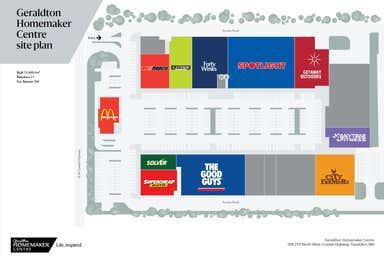 Geraldton Homemaker Centre, 208-210 North West Coastal Highway Geraldton WA 6530 - Floor Plan 1