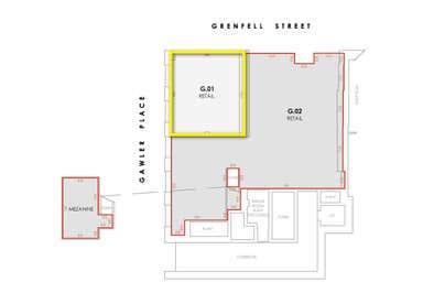 G.01, 65 Grenfell Street Adelaide SA 5000 - Floor Plan 1