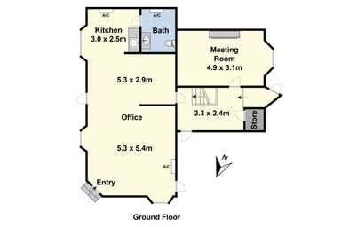 Suite/1/2 Mercer Street Geelong VIC 3220 - Floor Plan 1
