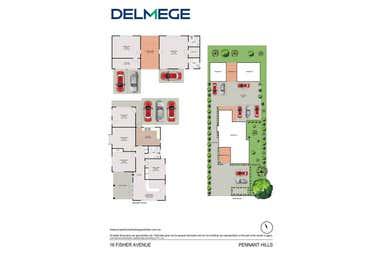 16 Fisher Avenue Pennant Hills NSW 2120 - Floor Plan 1